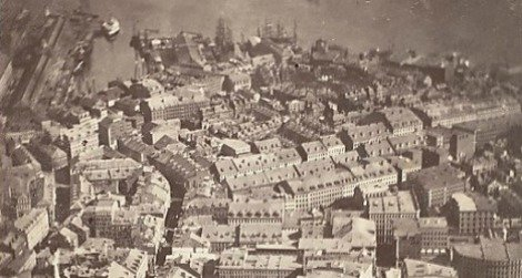 Lost Electric Key >> This Picture of Boston, Circa 1860, Is the World's Oldest Surviving Aerial Photo | Smart News ...