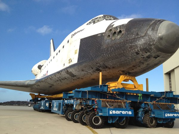 Driving the Space Shuttle Space