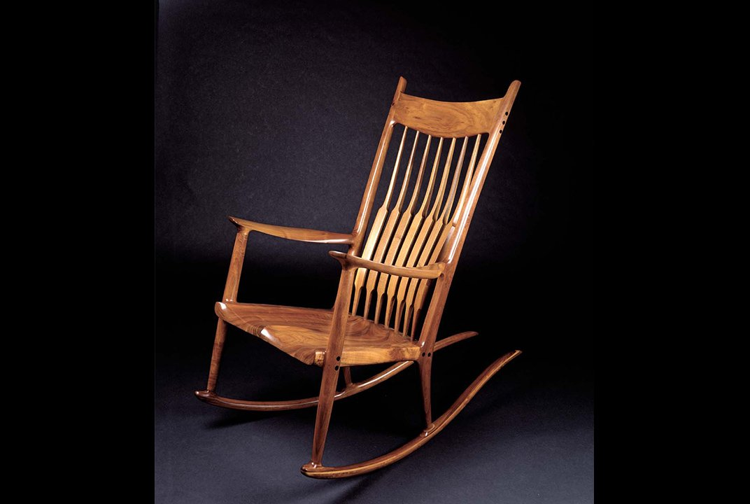 Famous for his rocking chair sam maloof made furniture for Famous chairs