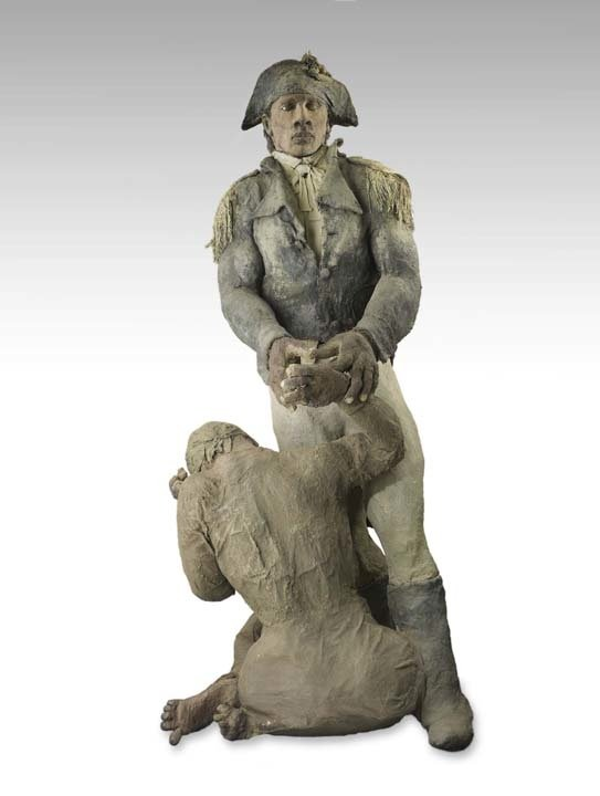 Sculpture of toussaint louverture is african art 39 s mona for African crops and slave cuisine