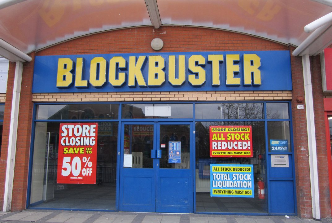 the fall of blockbuster The fall of blockbuster video name wilmington university abstract in 1985 blockbuster was founded by david cook decided to go into the movie rental business he .