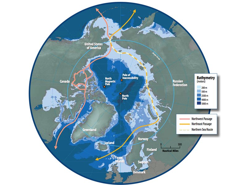 Northwest Passage 2015 If Atlantic And Pacific Sea