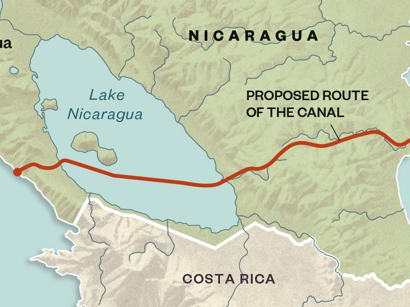 The ramificiations of the proposed route have environmentalists worried, and for good reason