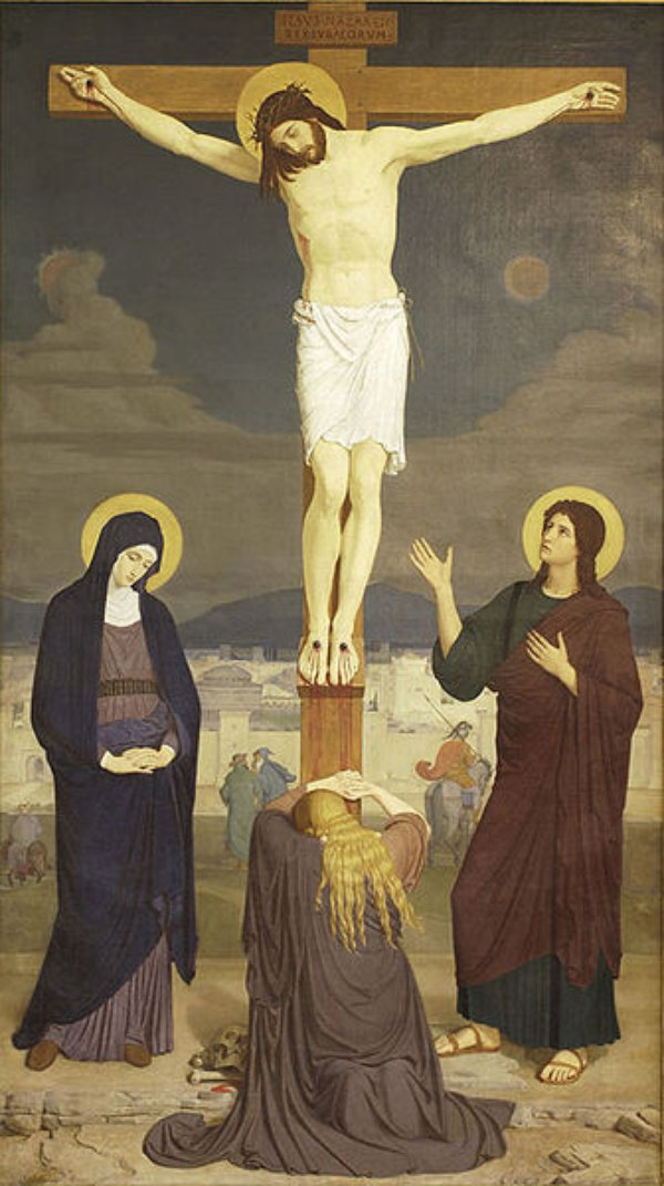 an analysis of the renaissance depiction of the crucifixion As a small and fragmentary work of art, the processional cross (figs 1 & 2) in   the form of the processional cross supports such an interpretation  while  christ is frequently depicted with a cruciform halo in medieval and renaissance  art,.