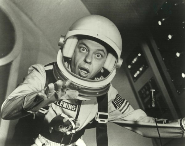don knotts reluctant astronaut - photo #2