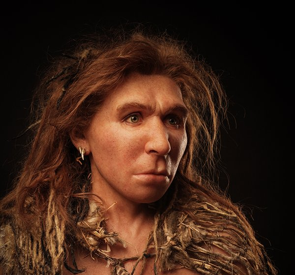 THEY WERE PEOPLE! A reconstruction of a Neanderthal woman from the ...