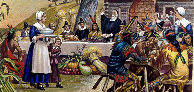 the first thanksgiving facts scholastic