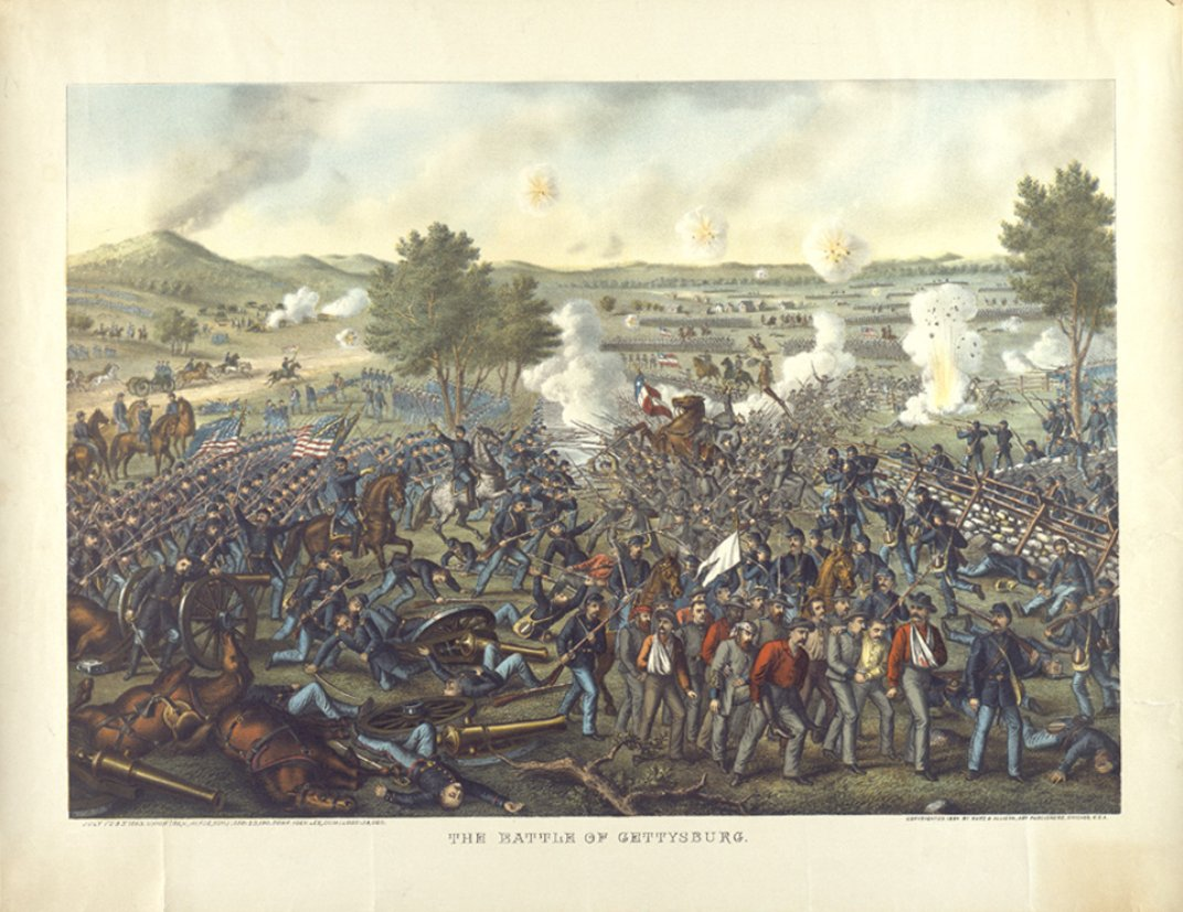 the battle of gettysburg The battle of gettysburg was a three-day civil war battle fought in pennsylvania  confederate general robert e lee led his troops against the union forces, led.
