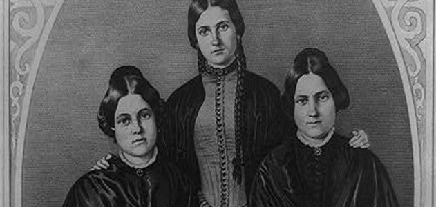 The Fox Sisters and the Rap on Spiritualism | History ...