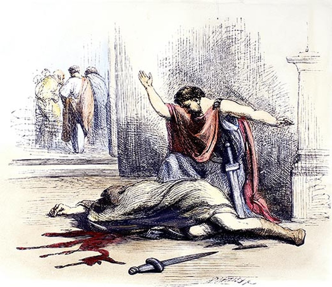 an examination of the character of the assassin brutus in julius caesar by william shakespeare Start studying julius caesar by william shakespeare learn vocabulary  manipulates brutus kills caesar out of envy assassin of caesar.