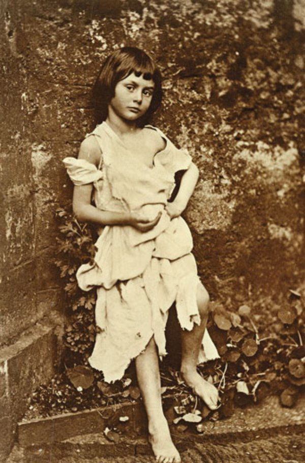 Alice Liddell, who urged Dodgson to write down the story that became ...