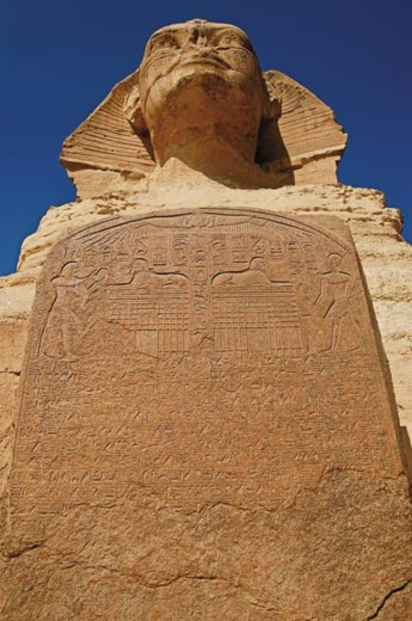 Carved Stone Slab : Uncovering secrets of the sphinx history smithsonian