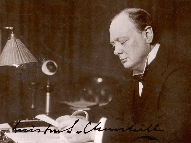 churchhill essay  · winston churchill will always be known chiefly for his political career and library of (somewhat apocryphal) witticisms, but a recently rediscovered essay.