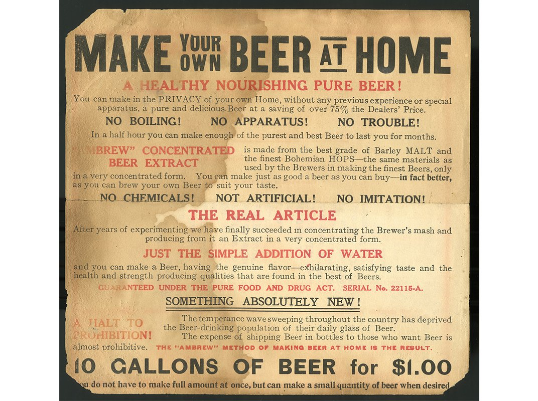 Raise a glass to the smithsonian 39 s first beer scholar at for How to brew your own craft beer
