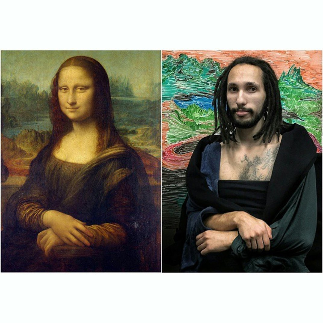 These Two Guys Recreate Famous Paintings Using Only Office