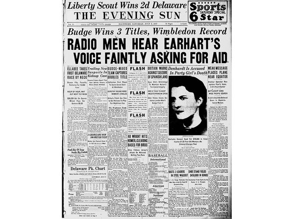 Amelia earhart research paper