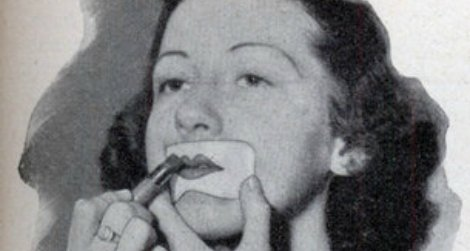 The History Of The Flapper Part 2 Makeup Makes A Bold