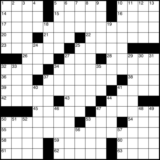 Universal Crossword Puzzle | Games & Puzzles | Smithsonian
