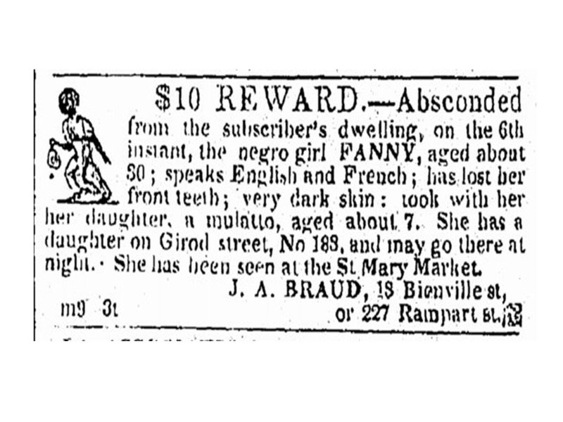 An Archive of Fugitive Slave Ads Sheds New Light on Lost ...