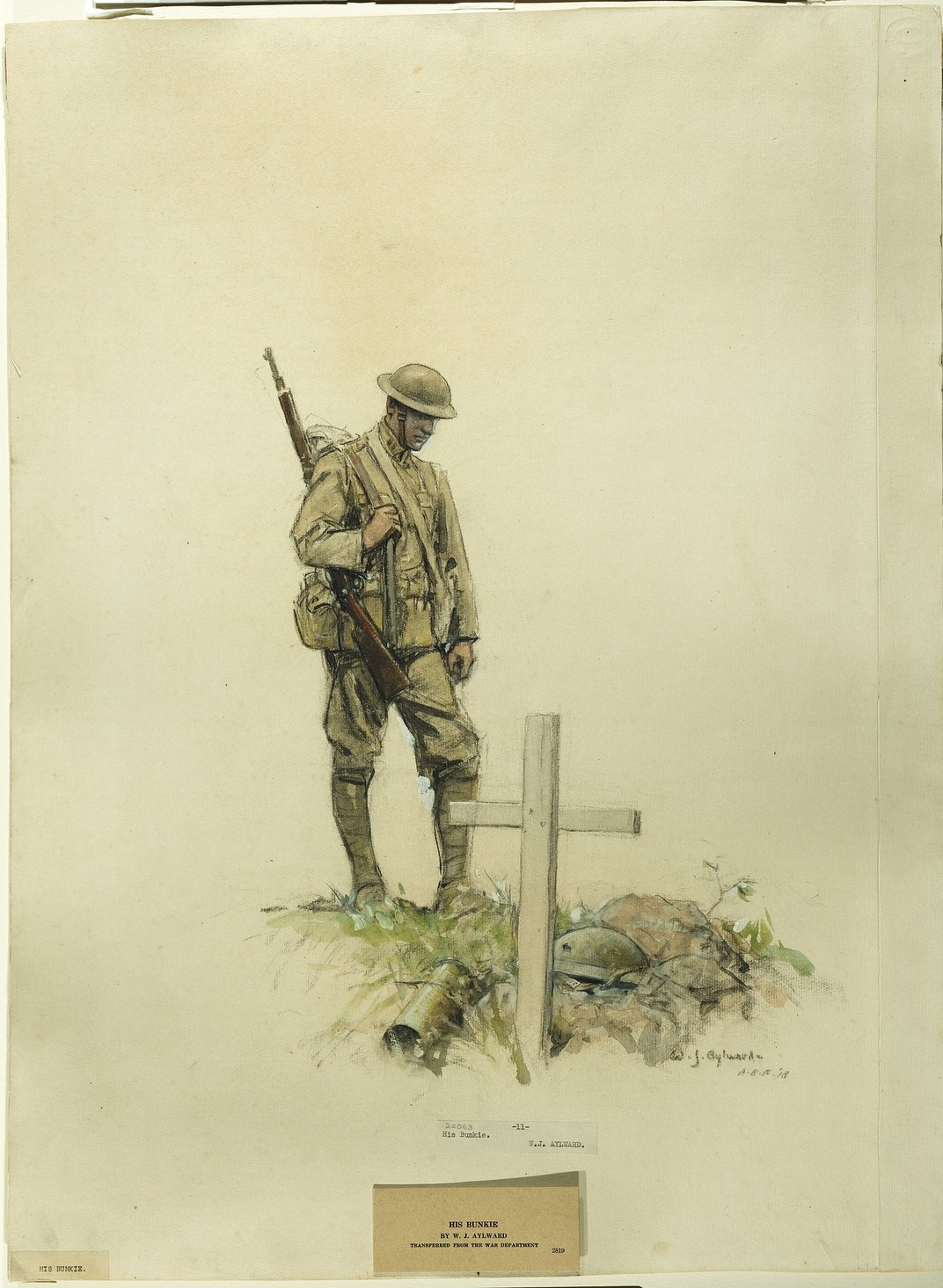 This Riveting Art From the Front Lines of World War I Has ...