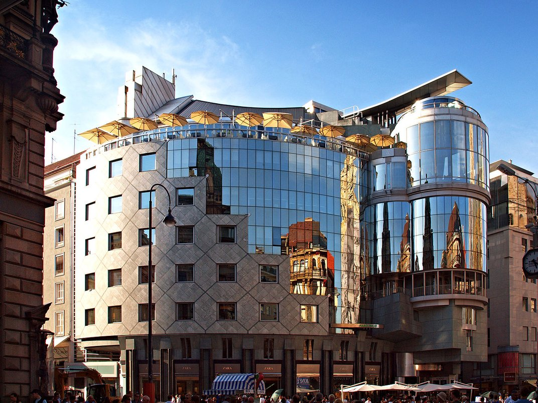 Remembering The Quot Eclectic Gusto Quot Of Architect Hans Hollein