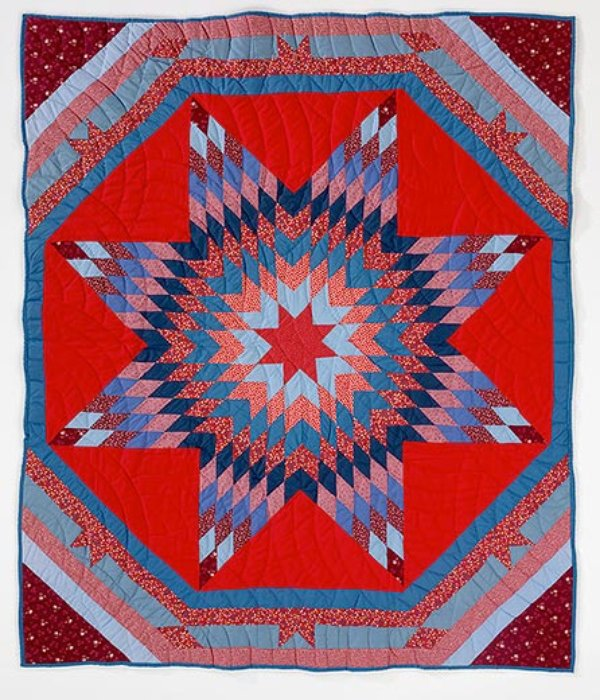 A Spectacular Collection Of Native American Quilts Arts