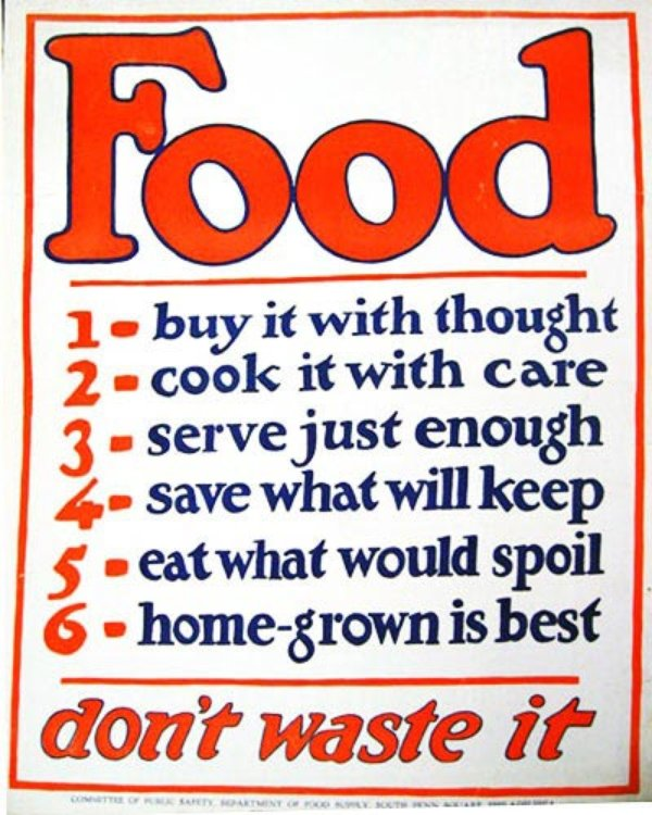 Buy It: American Food Posters From World War I And II