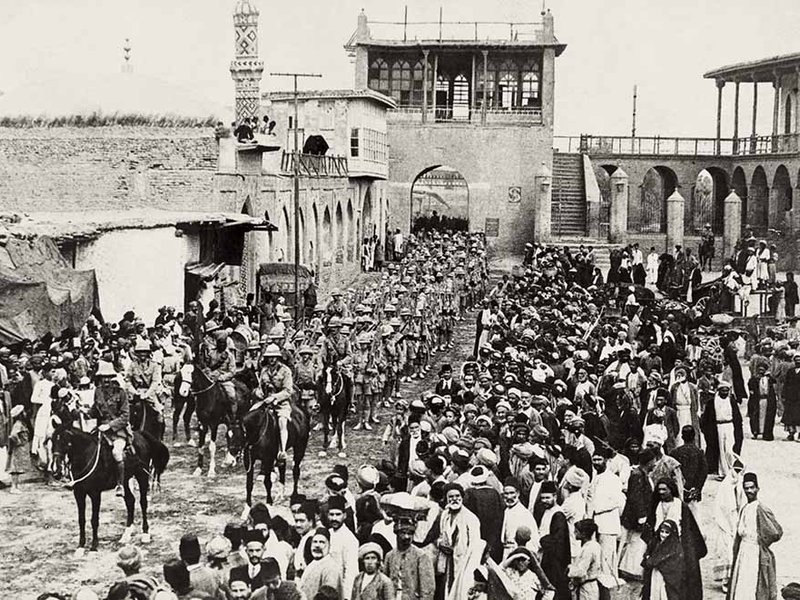 """The """"Peace"""" That Ended All Peace: The Post World War I Middle East"""