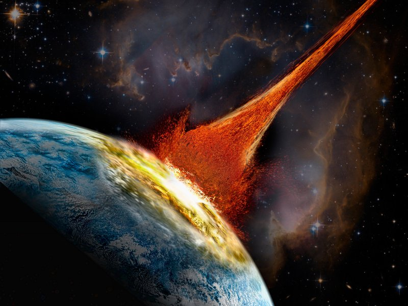 biggest asteroid that will hit earth - photo #27