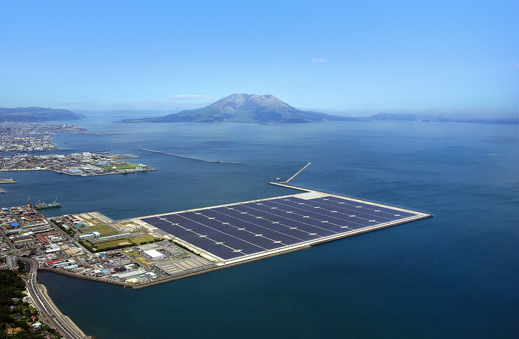 Is Japan S Offshore Solar Power Plant The Future Of