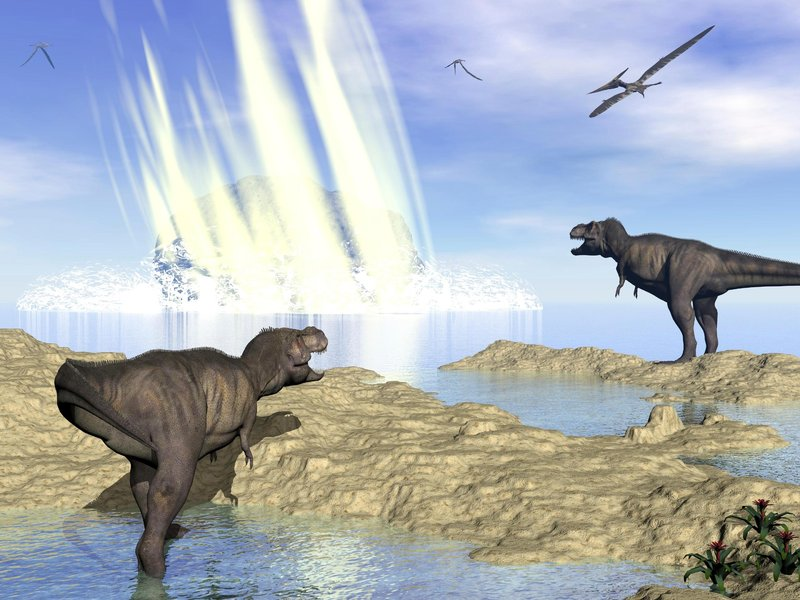 how big was dinosaur asteroid - photo #21