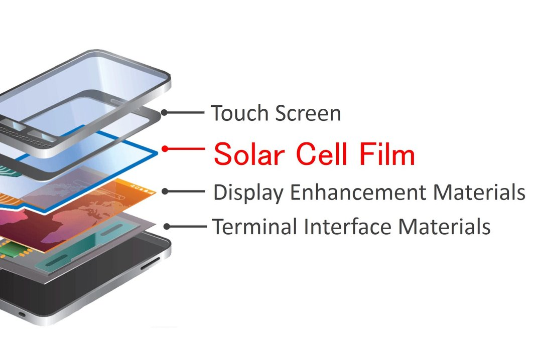 Solar Panels In The Screens Of Smartphones Could Power The