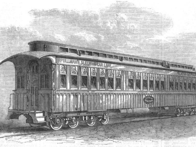 Traveling In Style And Comfort The Pullman Sleeping Car